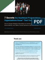 7 Secrets E-book