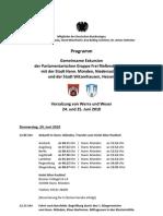 Exkursionsprogramm Werra Weser Hann. Münden