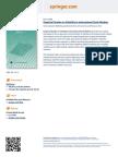 Flyer - Empirical Studies on Volatility in International Stock Markets