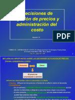 S-12 Fijacion Precios y Adm. Del Costo Horngren