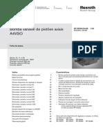 Bomba Variável de Pistões Axiais A4VSO