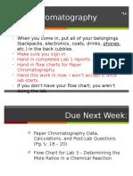 Chromatography Fall 2016