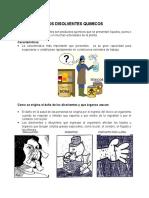 Charla No 23 - Los Disolventes Químicos