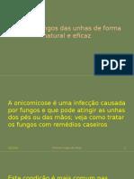 Elimine Fungos Das Unhas de Forma Natural e Eficaz