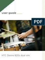HTC Desire 820s Dual Sim User Guide