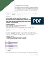 SPM Summary Module