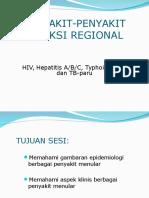 Penyakit-penyakit Menular (HIV, Hepatitis a,B,C, Typhoid Fever, Tb-paru, Varicella)