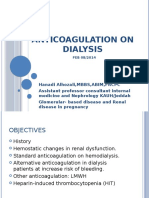 Anticoagulation on Dialysis