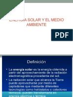 Energia Solar y El Medio Ambiente