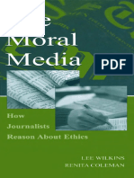 60110_Industry Media - The Moral Media - How Journalists Reason Ab