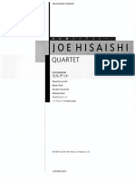 Joe Hisaishi - Quartet - Full Score