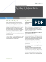 Forrester_Trends_Future of Customer Service