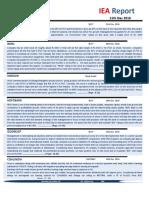 IEA Report 21st December