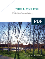 Foothill Catalog 2015-16