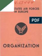 WWII Europe Organization Charts