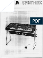 Elka Synthex Manual