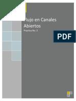 Flujo en Canales Abiertos Reporte 3
