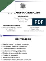 Materia y Energía 2016