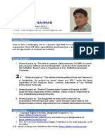 CV of Lutfur Rahman