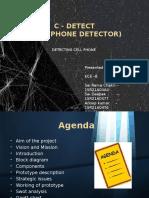 Mobile Detector Ppt Final