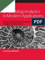 Embedding Analytics in Modern Applications