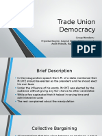 Trade Union Democracy