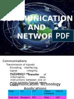 Group 8 Communication and Network Maam Mina Ganda