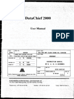 DataChief 2000 User Manual