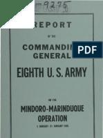 Mindoro-Marinduque Operation (1945)