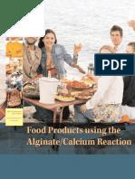 Calcium Alginate Reaction