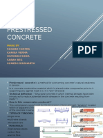 Prestressed Concrete Working