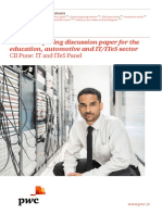 Cloud Computing Discussion Paper for the Education Automotive and It Ites Sector