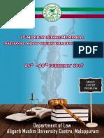Moot Court Proposition