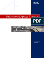 DriveworksXpress Tutorial