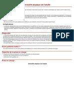 Dermatite Atopique del'Adulte