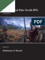 UESRPG 2e Supplement - Inhabitants of Tamriel (v1.01)
