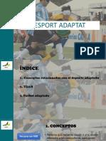Esport Adaptat - Angel Vila