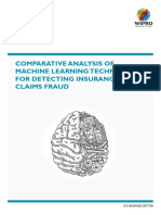 Comparative Analysis of Machine Learning Techniques for Detecting Insurance Claims Fraud