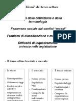 Il Terzo Settore e l Istat