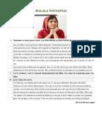Malala Yousafzai.islcollective_13765610 + corrige