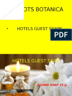 D ROOTS Hotels Guest Soap