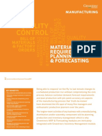 Greentree Manufacturing Mrp and Forecasting Web