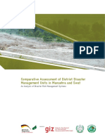 PKGP (2013) Comparative Assessment of District Disaster Management Units