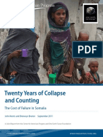 Twenty Years of Collapse and Counting The Cost of Failure in Somalia