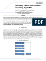 Segmentation Of Lung Structures With Fuzzy Clustering Algorithm