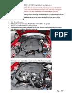 2012 SLK 350 3.5 V6 (M276 Engine) Spark Plug Replacement