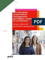 Pwc Performance Survey 2015