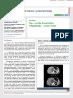 Pancreatitis, Pannicultis, Polyarthritis- A Rare Triad!