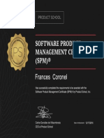 Product School Certificate