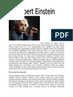 Albert Einstein Biografi